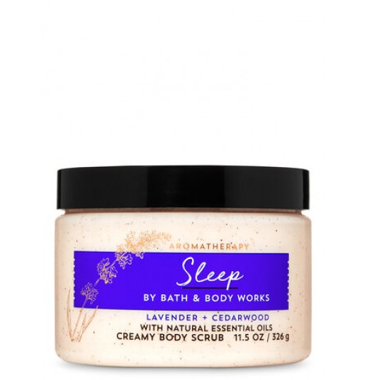 СКРАБ  AROMATHERAPY SLEEP LAVENDER CEDARWOOD ОТ BATH AND BODY WORKS