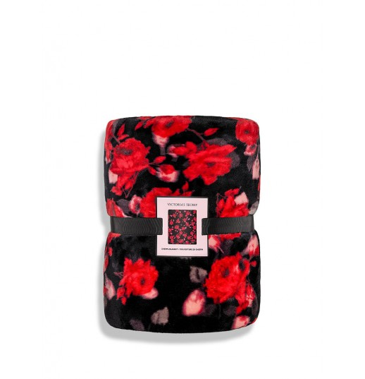 Плед Bold Floral Sherpa Blanket Victoria's Secret