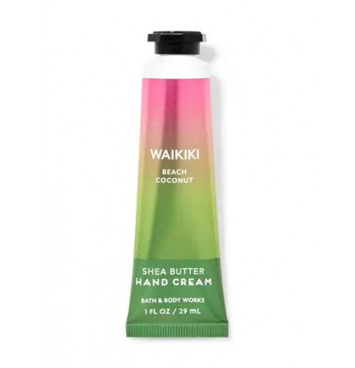 Ароматный крем для рук Bath & Body Works Hand Cream Waikiki Beach Coconut 29мл