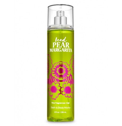 Спрей Iced Pear Margarita от Bath and Body Works