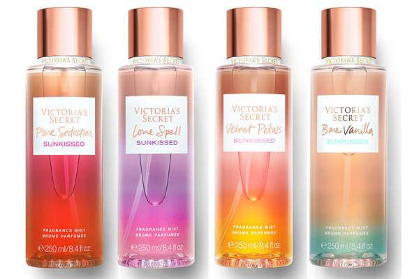 Серия Sunkissed Fragrances от Victoria's Secret